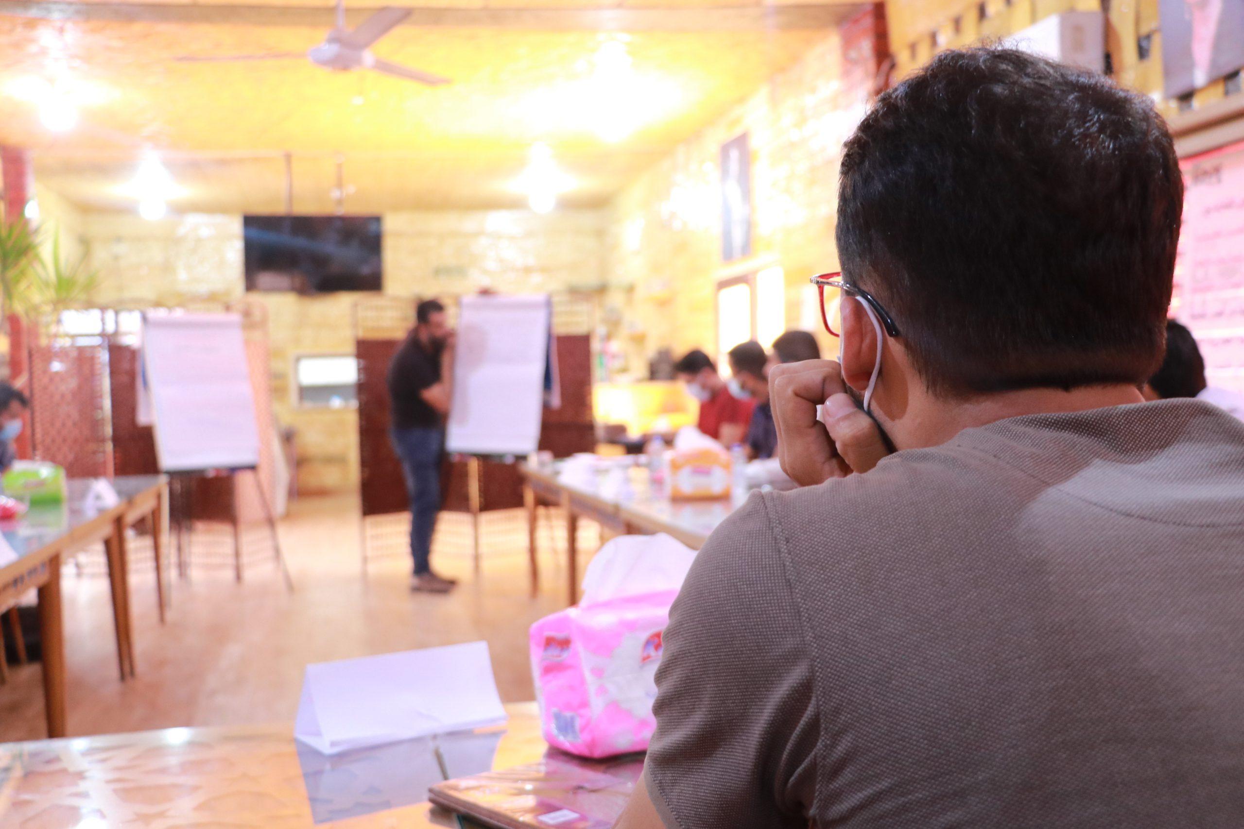 جلسات حوارية – دور المنظمات في تعزيز الامن